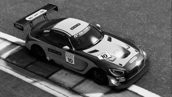 Photograph - Mercedes Amg Gt3 - 71 by Andrea Mazzocchetti