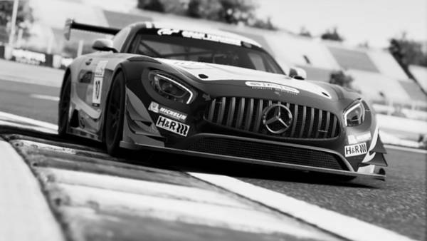 Photograph - Mercedes Amg Gt3 - 74 by Andrea Mazzocchetti