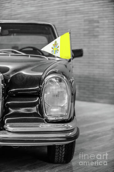 Wall Art - Photograph - Mercedes Benz 300 Pope Mobile by Stefano Senise