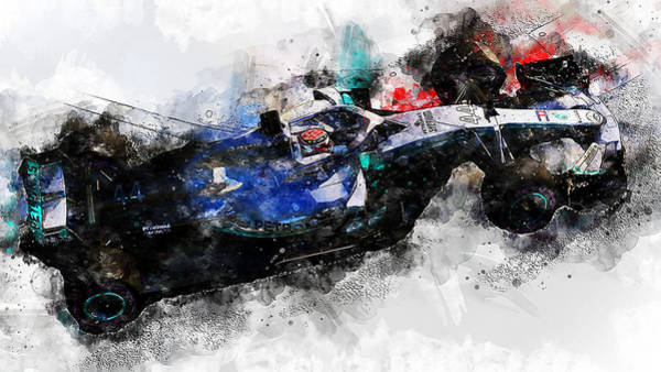 Painting - Mercedes W10 - 10 by Andrea Mazzocchetti