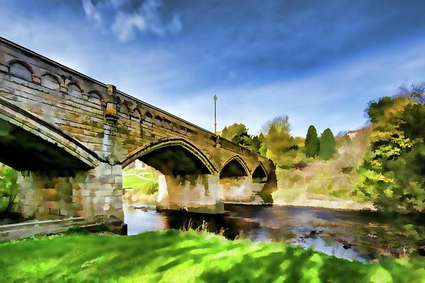 Wall Art - Mixed Media - Mercury Bridge Digital Painting by Smart Aviation