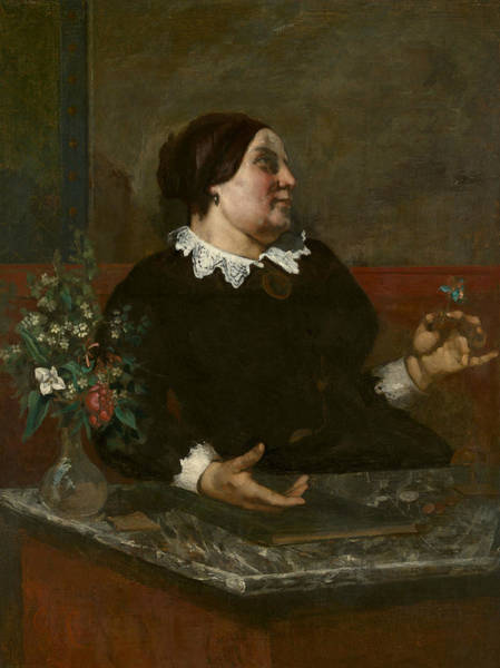 Wall Art - Painting - Mere Gregoire by Gustave Courbet