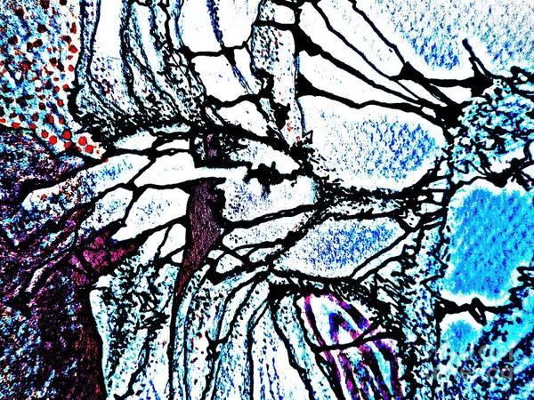Painting - Mermaid-9 by Katerina Stamatelos