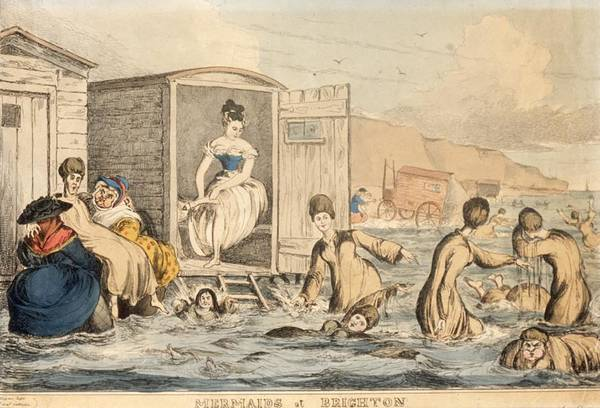 Photograph - Mermaids At Brighton by Hulton Archive