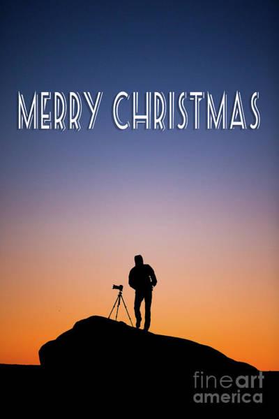 Photograph - Merry Christmas Photographer by Edward Fielding