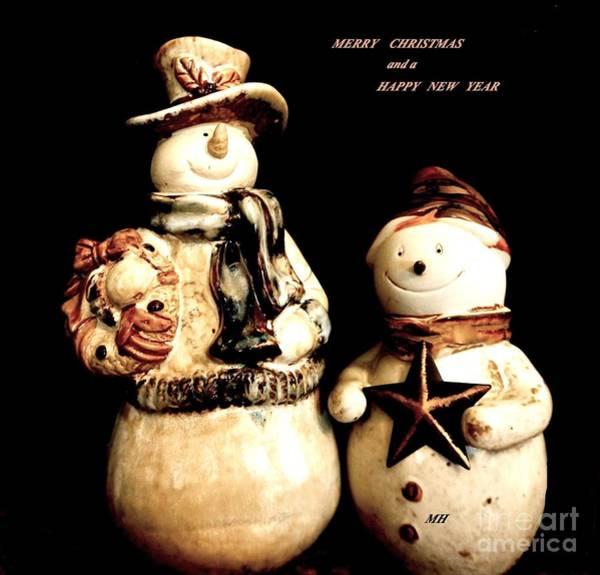 Wall Art - Photograph - Merry Christmas Two by Marsha Heiken