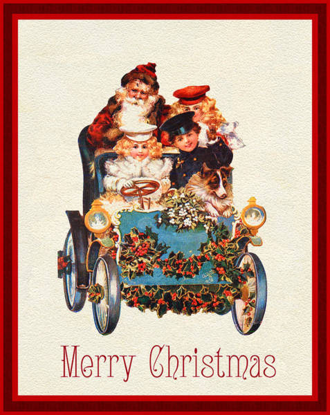 Photograph - Merry Christmas Wishes by Doc Braham