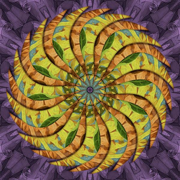 Digital Art - Merry Gold Dandiflower by Becky Titus