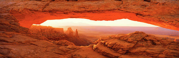 Wall Art - Photograph - Mesa Arch Canyonlands National Park Ut by Panoramic Images