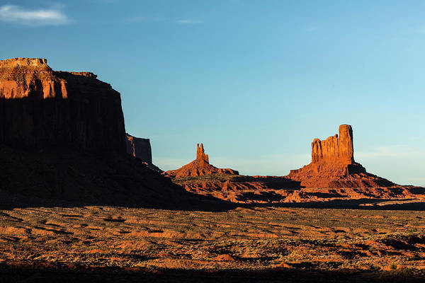 Wall Art - Photograph - Mesa At Sunset, Monument Valley Tribal by Adam Jones