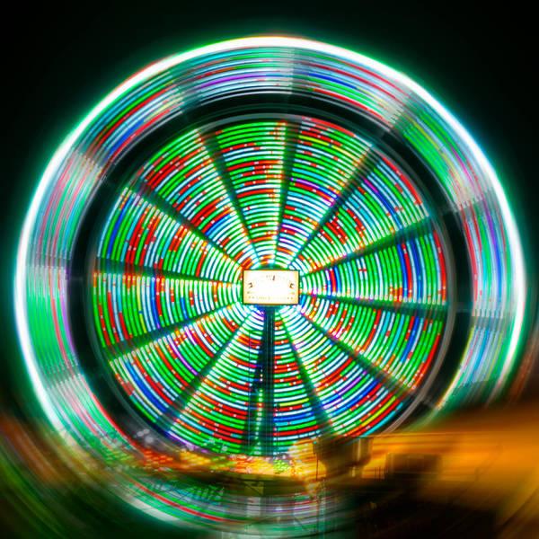 Photograph - Mesmerizing Farris Wheel  by Christine Buckley