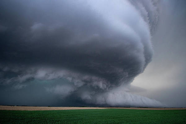 Photograph - Mesocyclone by Wesley Aston