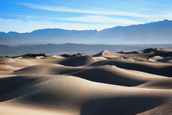 Great Sand Dunes National Park Photograph - Mesquite Flat Sand Dunes by Walter Bibikow