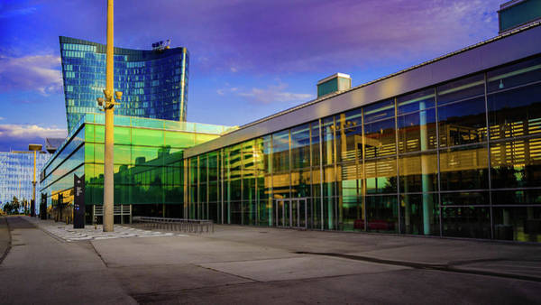 Art Print featuring the photograph Messe Wien by Borja Robles