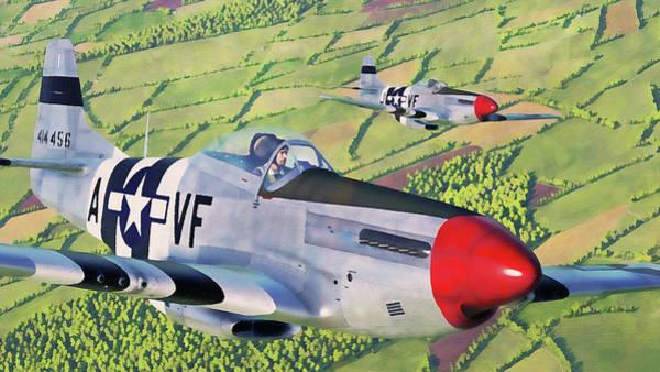 Painting - Messerschmitt Bf 109k4 - 06 by Andrea Mazzocchetti