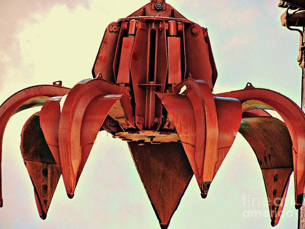 Photograph - Metal Industrial Claw by Marcia Lee Jones