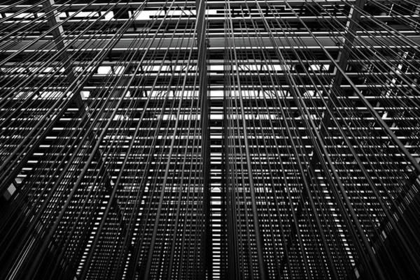 Photograph - Metal Lines by Silvia Marcoschamer