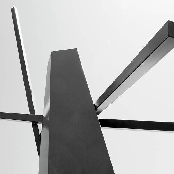 Wall Art - Photograph - Metal Samurai Rise Of Abstraction by William Dey