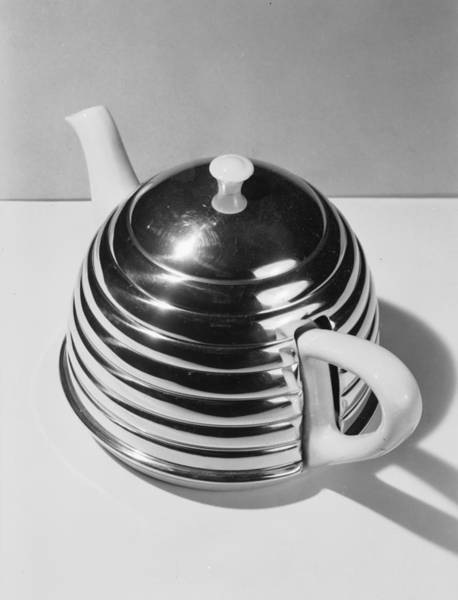 Teapot Photograph - Metal Teapot by Chaloner Woods