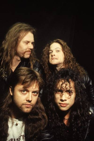 Human Interest Photograph - Metallica by Hulton Archive
