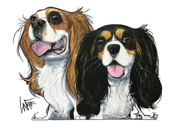 Drawing - Metcalfe Gc2pet033 by John LaFree