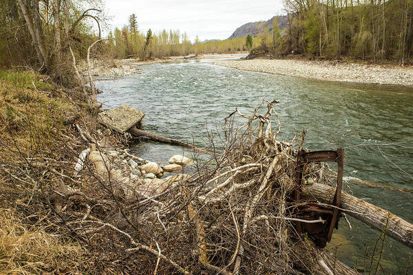 Photograph - Methow Spring With Car Door by Tom Cochran