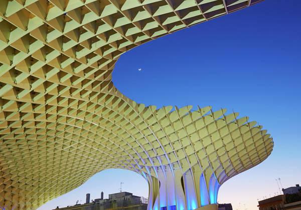 Parasol Photograph - Metropol Parasol In Seville by Allan Baxter