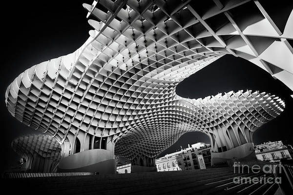 Wall Art - Photograph - Metropol Parasol In Seville by Delphimages Photo Creations