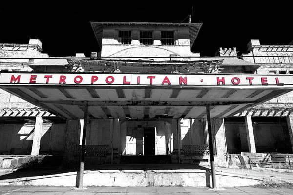 Wall Art - Photograph - Metropolitan Hotel Fusion In Asbury Park by John Rizzuto
