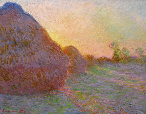 Painting - Meules by Claude Monet