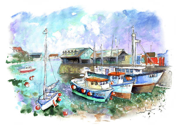 Painting - Mevagissey 03 by Miki De Goodaboom
