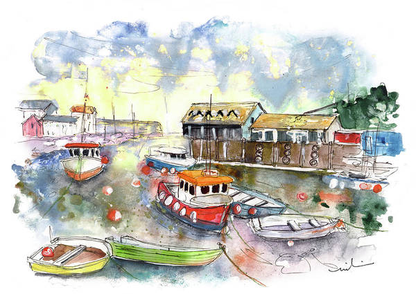 Painting - Mevagissey 04 by Miki De Goodaboom