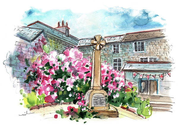 Painting - Mevagissey 05 by Miki De Goodaboom