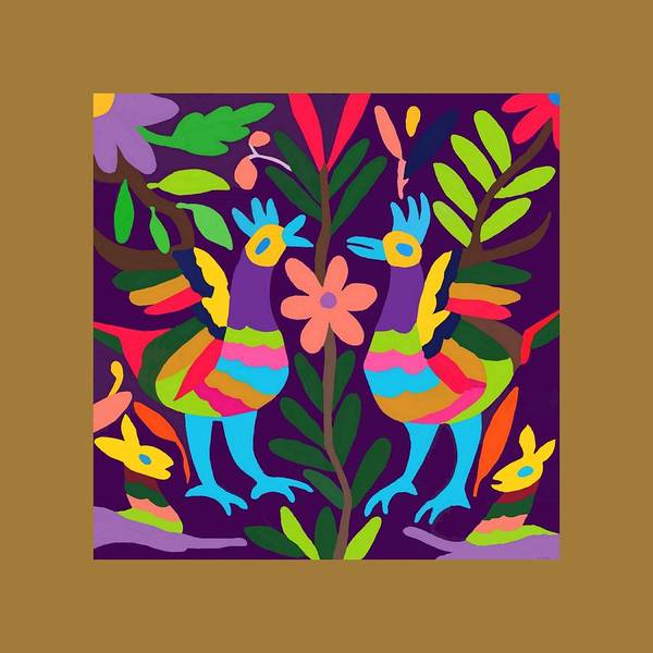 Wall Art - Painting - Otomi 14 by Ken Pollard