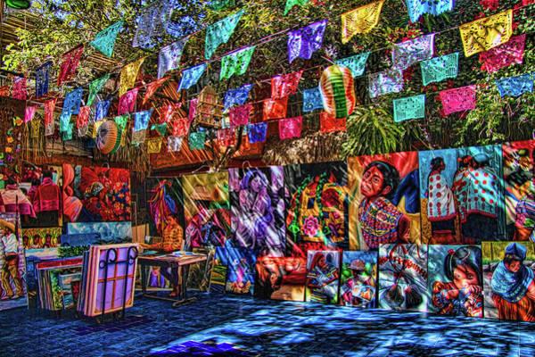 Mexican Art Store Art Print