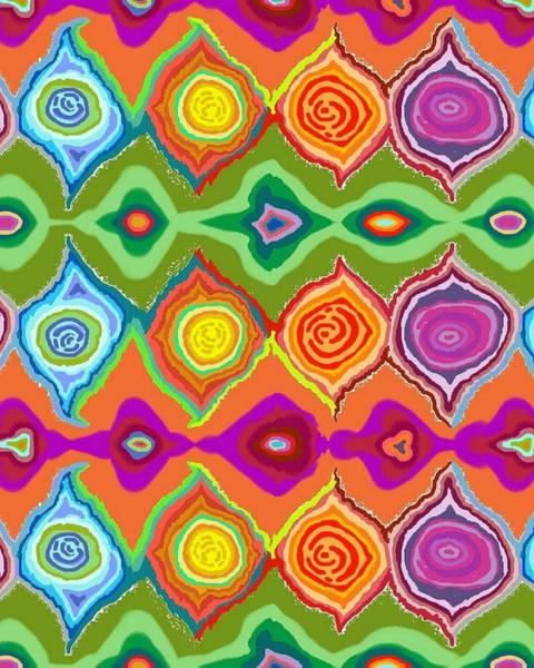 Digital Art - Mexican Colours by Julia Woodman