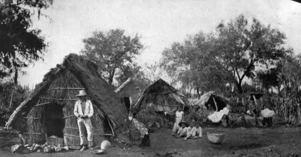 Indigenous People Photograph - Mexican Dwellings by Spencer Arnold Collection