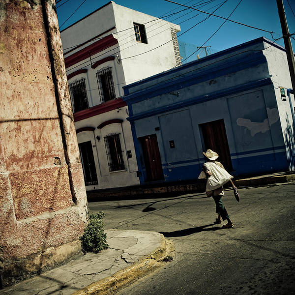 Real People Photograph - Mexican Peasant In Mazatlan Mexico by Matt Mawson