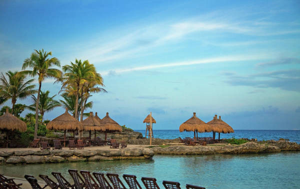 Mayan Riviera Photograph - Mexican Resort by Thepalmer