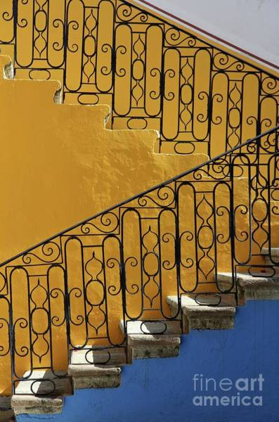 Wall Art - Photograph - Mexican Style Steps by Olivier Schram