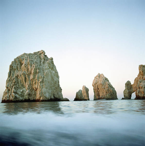 Cabo San Lucas Arch Wall Art - Photograph - Mexico, Cabo San Lucas, Rock Formations by Paul Taylor