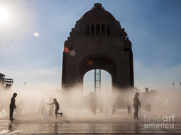 Revolution Wall Art - Photograph - Mexico City by Javier Garcia