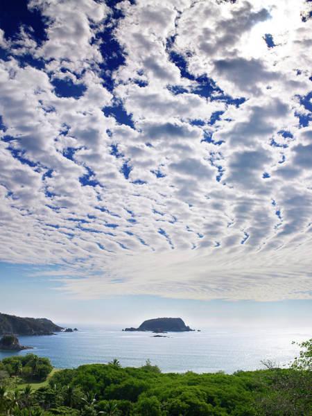 Photograph - Mexico, Oaxaca, Huatulco, Coastal Scenic by Brad Wilson