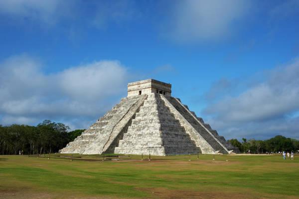 Yucatan Wall Art - Photograph - Mexico, Yucatan, Chichen Itza, Pyramid by Tuul & Bruno Morandi