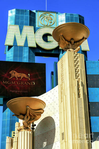 Photograph - Mgm Grand Las Vegas by John Rizzuto