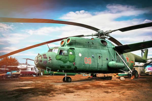 Cold War Photograph - Mi-6 Helicopter Riga Latvia  by Carol Japp