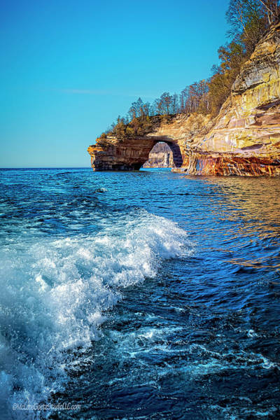 Wall Art - Photograph - Mi Lovers Leap Arch Wave by LeeAnn McLaneGoetz McLaneGoetzStudioLLCcom