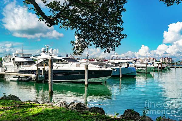 Photograph - Miami Beach Marina 106 by Carlos Diaz