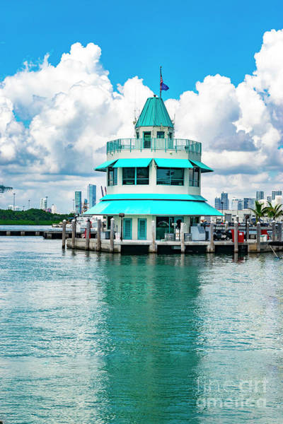 Photograph - Miami Beach Marina 108 by Carlos Diaz