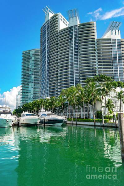 Photograph - Miami Beach Marina 12 by Carlos Diaz
